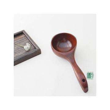 超可愛實木小湯勺 圓勺 酸棗木水瓢 米勺 特色餐具容器