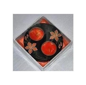 東南亞風格異國風情泰國風情 藝品木雕香薰蠟燭燭台