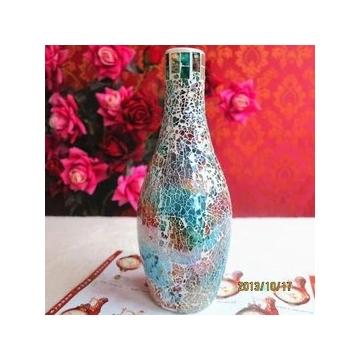 欧式复古玻璃花器花器餐桌茶几台式花插摆件实用结婚礼品乔迁礼品