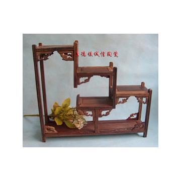 景德镇高档瓷器底座 花瓶木座 茶具座子 小工艺品博古架 陶瓷必备