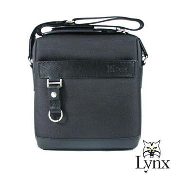 ~Lynx~ 山貓紳士雅典風 直式隨身側背包^(兩色^)