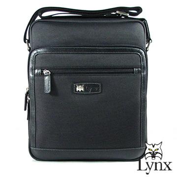 ~Lynx~ 山貓 款城市精英直立式側背包^(兩色^)