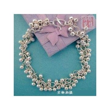 銀 小珠子手鏈  銀打造 佩戴舒適