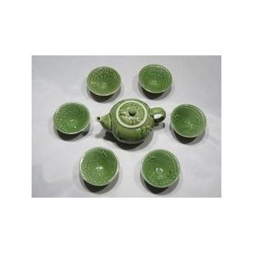 陶瓷茶具 活瓷 茶具套裝 整套茶具 功夫茶具