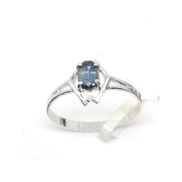 夢金華 ^~^~925銀天然藍寶石戒指 指環^~^~ 款^~^~JZ0329w