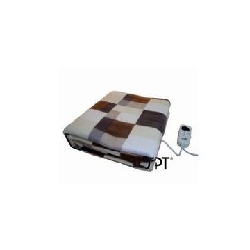 尚朋堂 双人绒毛电毯 微电脑电热垫毯 SBL-200