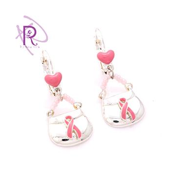 ~R.J New York~我的粉紅絲帶包包耳環