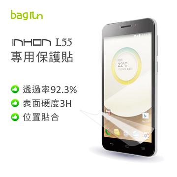 ~Bagrun~應宏 INHON L55  高透亮保護貼^(貼壞保賠^)