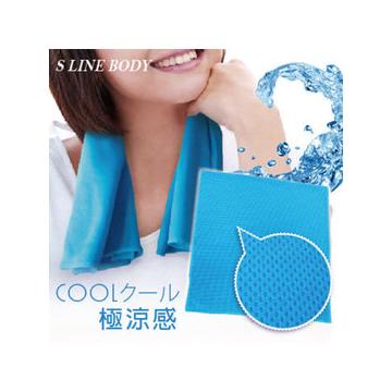 清涼特惠 S LINE BODY 魔術冰涼巾SB~86282   100~5  無縫氣網冰